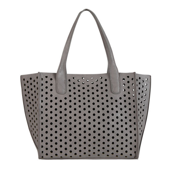 2f7422183ee0 China Spring Summer Collections Circle Laser Cut Tote Handbag Bag in ...
