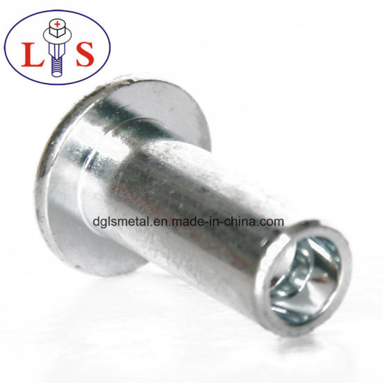 China Supply Hot Sales Half Hollow Rivets, Solid Rivets