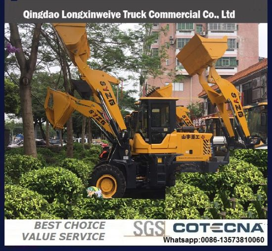 China 3 Ton Front End Loader with Attachment Log Grapple - China