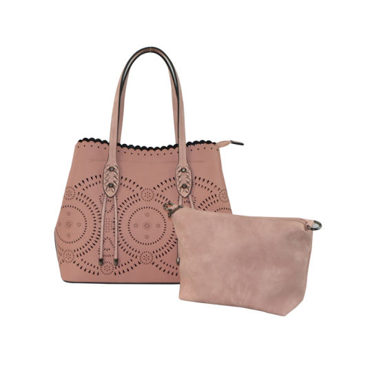 3d03610d0beb Laser Punched Bag in Bag Designer Fashion Ladies PU Handbag Zxk806 pictures    photos