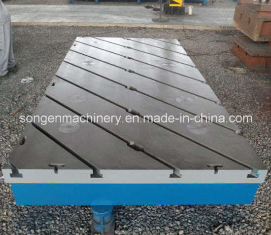 T-Slotted Cast Iron Floor Plates pictures & photos