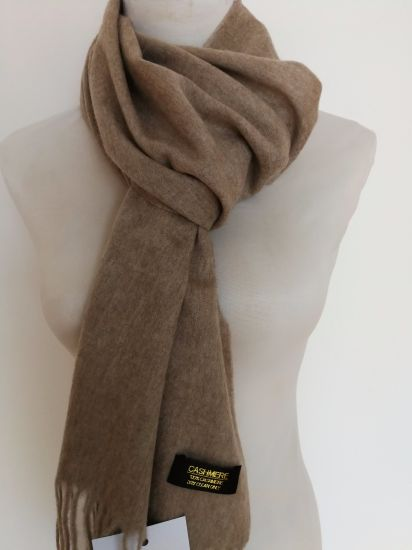 Cashmere Woven Brushed Scarf