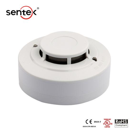 China 48v 4 Wire Ul Photoelectric Smoke Detector China