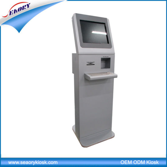 Touch Screen Handled Coin Vending Card Reader Kiosk Terminal Machine pictures & photos