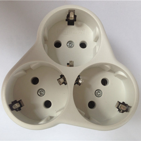 European Socket Adapter Adaptor ABS Plug (RJ-3131) pictures & photos