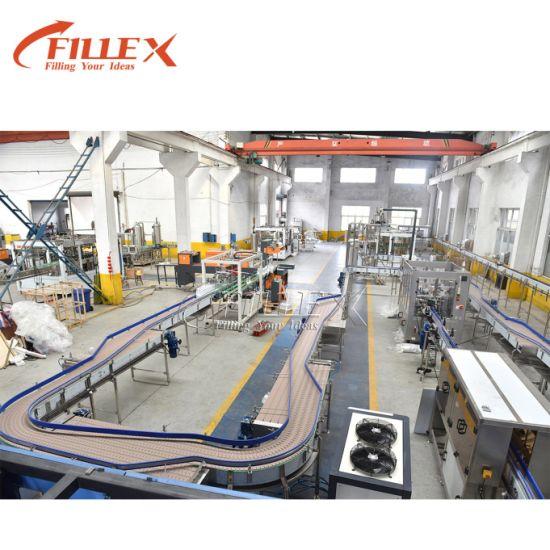 Conveyor Belt Production Line for Bottled Beverage