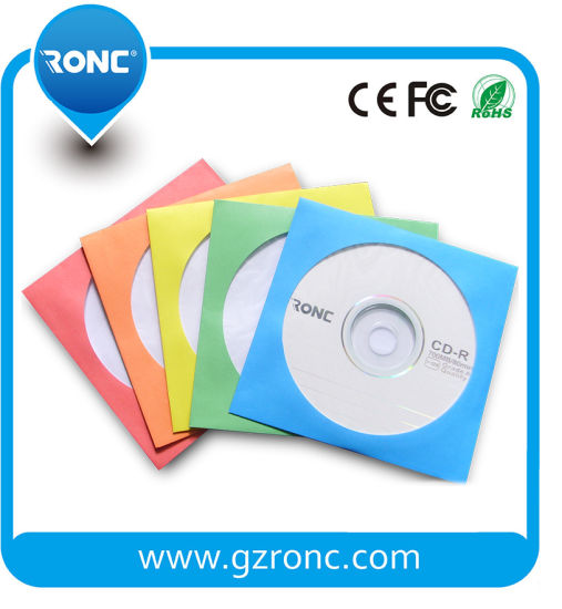 Storage Colorful 80g DVD Sleeve Paper for CD DVD pictures & photos