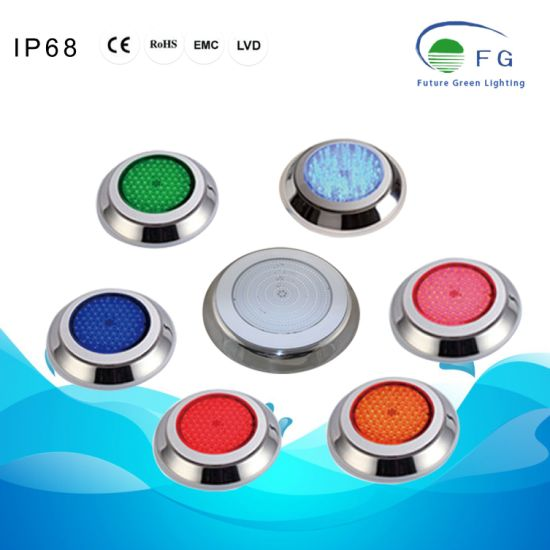 IP68 316ss Cool White Warm White RGB Yellow LED Swimming Pool Underwater Lamp