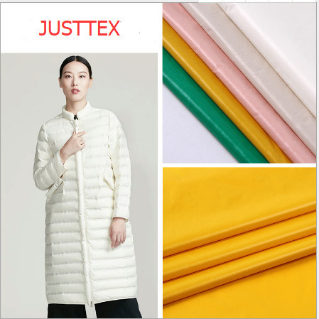 Nylon Spandex Waterproof Down Jacket Fabric