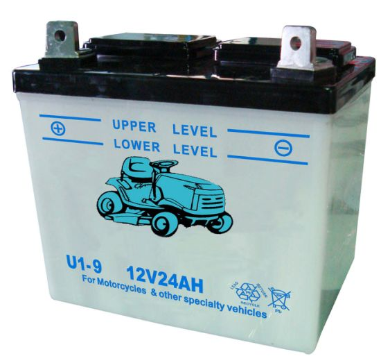 China U1 9 U1 R9 Lead Acid Lawnmower Atv Utv Tractor Battery China Lawn Mower Battery Lead Acid Battery