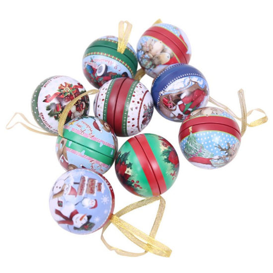 Iron Spherical Candy Ball Storage Jar Cans 2018 pictures & photos