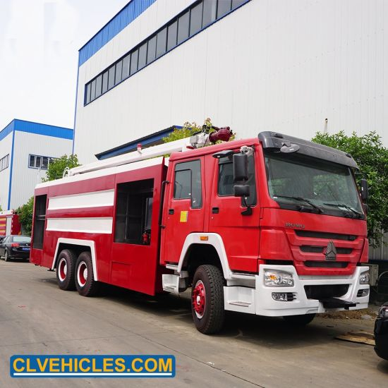 China HOWO Standard New off Road Fire Engine Fighting Rescue