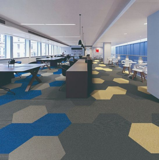 Nylon Carpet Tile with PVC Backing for Commercial/Hotel/Model 86205 pictures & photos