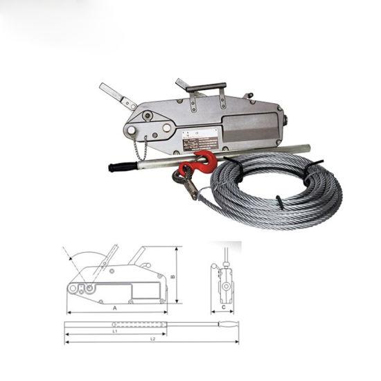 China High Quality Wire Rope Pulling Lifting Hoist Machine China