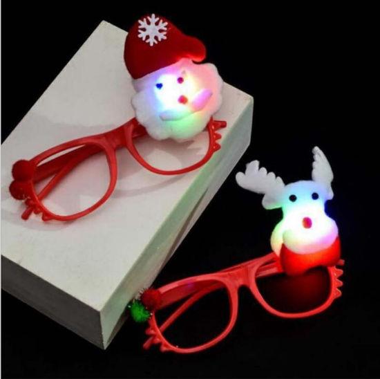 Funny Cartoon LED Flashing Eye Frame Children Glow Party
