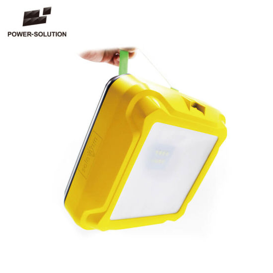 Long Lifespan Portable Solar Rechargeable Lantern for Indoor and Outdoor Lighting pictures & photos