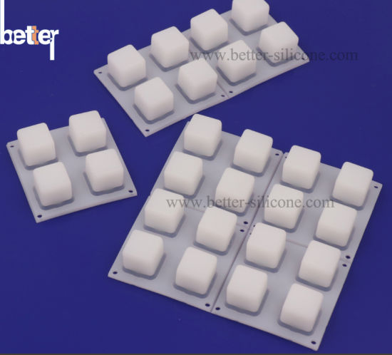Translucent Conductive Silicon Rubber Backlit Buttons/Keypad/Pad Keyboard