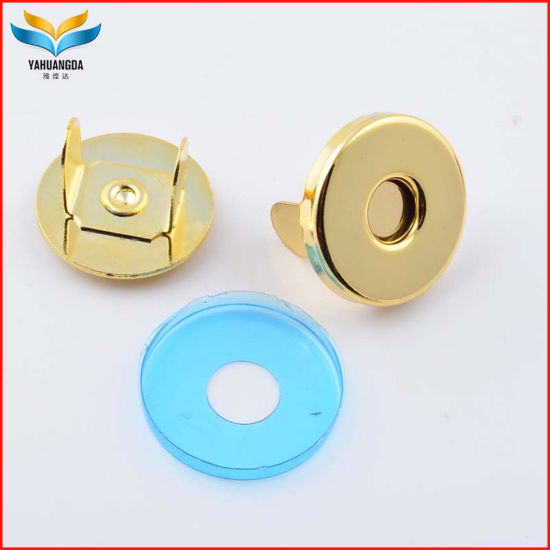 14mm Metal Magnet Snap Button, Thin and Thick Mag Snap Button with High Quality