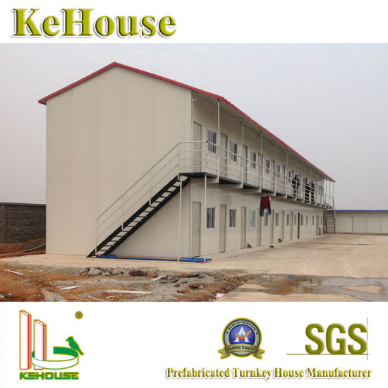 Pakistan Quick Installation Steel Construction Material Beam Modular  Prefabricated House Building
