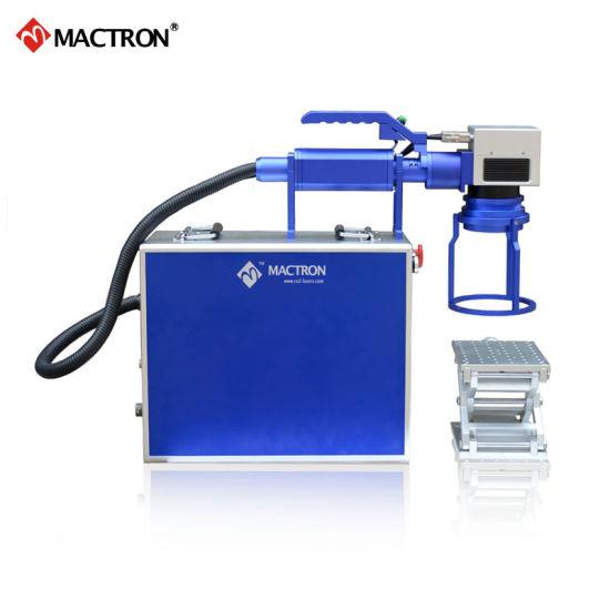 Mt-Fp30 30W Portable Mini Fiber Laser Marking Machine