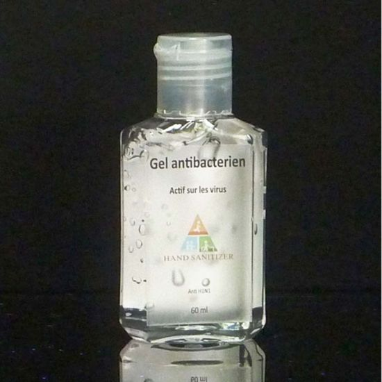 65ml Flip Top Cap Plastic Bottle Using for Washing or Chemical
