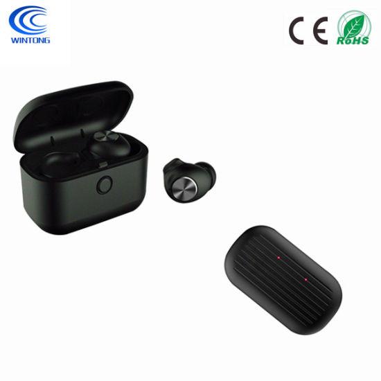 China Headset Tws Wireless Earphones Mini Earbuds Stereo Headphones Bluetooth 5 0 China Earphone And Bluetooth Headset Price