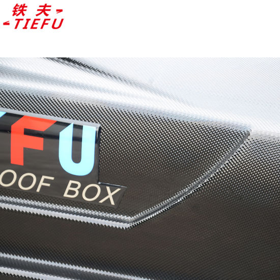 Car Roof Box Manufacturer Roof Cargo Box with Diamond Pattern