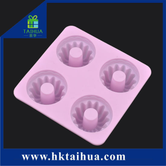 Hot Sale High Temperature Resistant Silicone Cake Mold