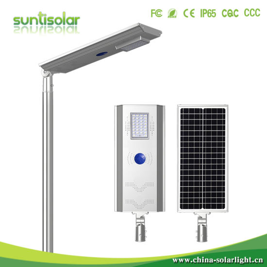 5W-120W Outdoor Luminaria Lamp All in One Solar Street LED Light with Motion Sensor