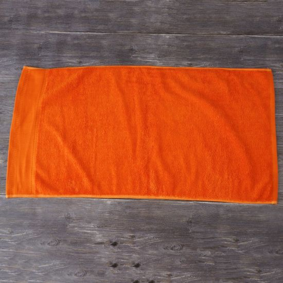 Plain Dyed 100% Cotton Gift Hand Towels Custom Logo