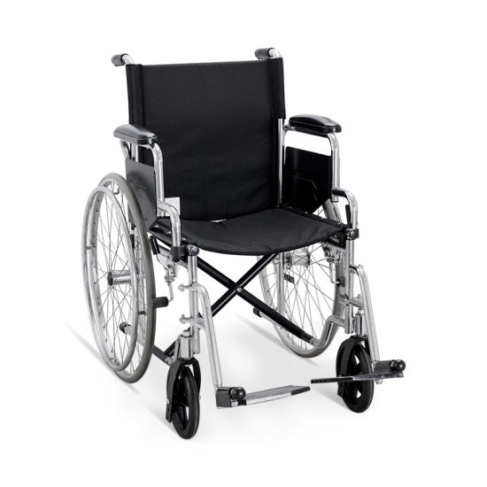 Ske030 Hospital Furniture Stainless Steel Wheelchair pictures & photos