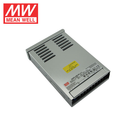 Meanwell ERPF-400-24 400W 24V Single Output Switch Power Supply for LED Strip Lighting
