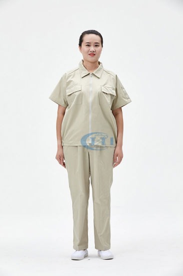 ESD Clothes Antistatic Workwear (short sleeve jacket) pictures & photos
