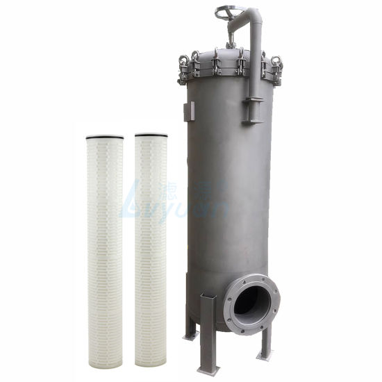40/60 Inch High Flow Water Filter Cartridge/Replace Pleated Cartridge Filter for Filtration