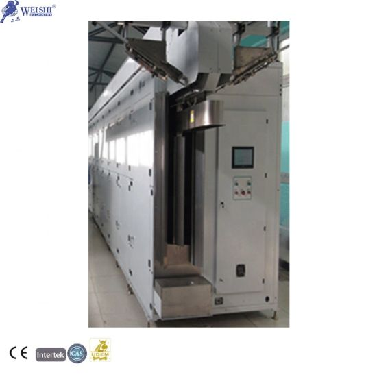 Large Capacity Loads Continuous Drying Tunnel Clothes with Sensor Dry Technology Belt Dryer Machine for Sale