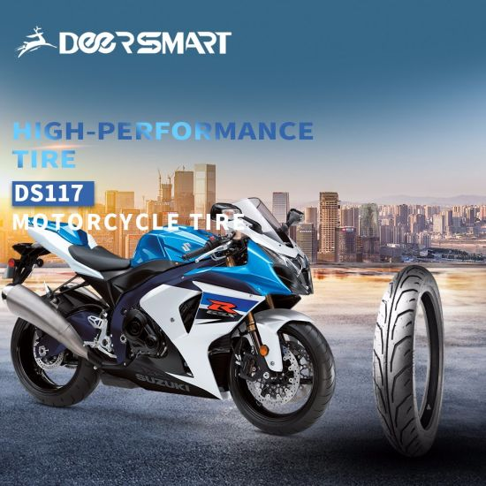 20 Years ISO9001 Factory Professional All Terrain Motorcycle/Motor/Motorbike Tubeless Scooter Rubber Tire/Tyre Ds117 100/80-17, 70/80-17, 80/80-17, 90/80-17
