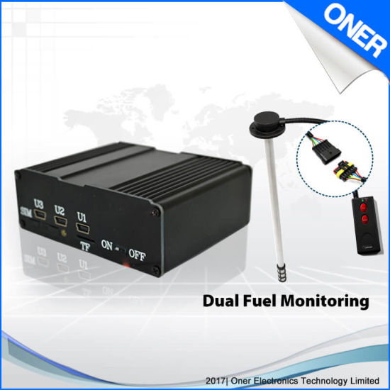 GPS Tracker with Fuel Monitoring System for Vehicle and Fleet