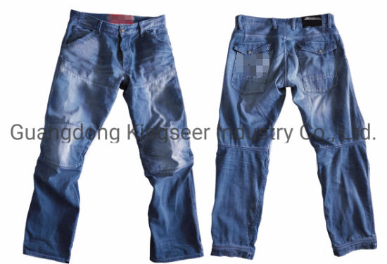 Slim Fit Jeans Blue Stretch Skinny Fit Denim Jeans Ks-D003