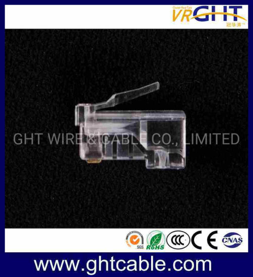 CAT6 Gold-Plated Network Crystal Head/RJ45 Connectors pictures & photos