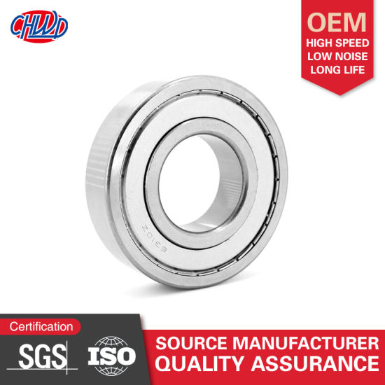 Deep Groove Ball Bearing 6000 6200 6300 ZZ 2RS Various Sizes 6000~6304 Series