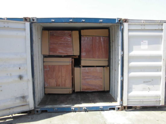 ISO Cargo Container Wooden Flooring 28mm Thickness with 21plys