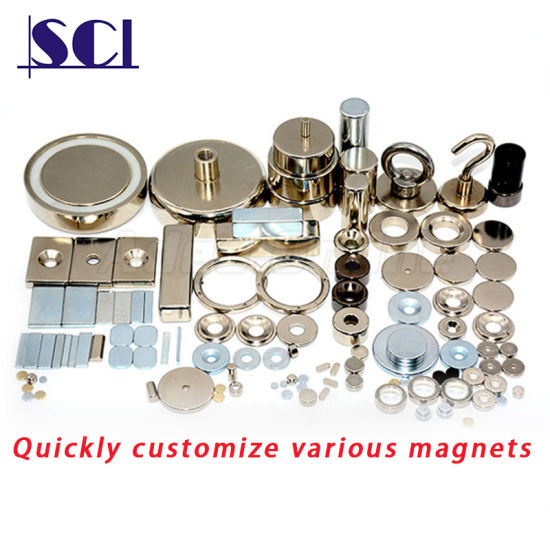 Custom Super Strong Rare Earth Permanent N35 N38 N40 N42 N45 N48 N52 Neodymium Magnet for Industry / Package Box / Toy