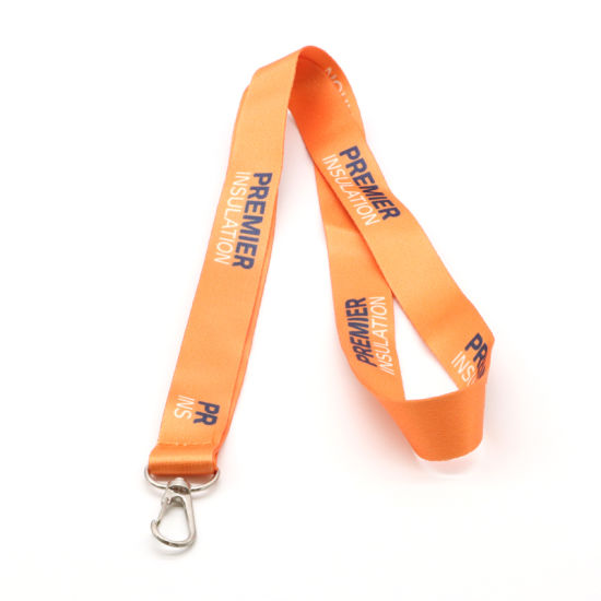 Promotional Custom Logo Printing Polyester Lanyard Wholesale Promotional Neck Sublimation Lanyard pictures & photos