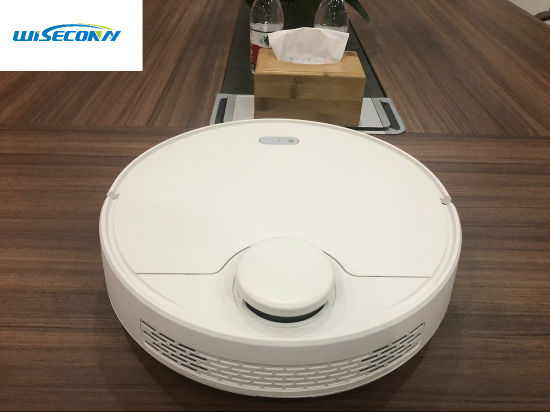 Wet and Dry Mini Automatic Dust Collector Smart Cleaning Machine Robotic Vacuum Cleaner with Anti-Jam of Laser Head