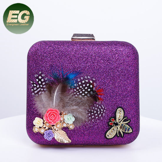 Elegant Clutch Bags Wholesale OEM Women Purse and Handbags in Party Eb1046