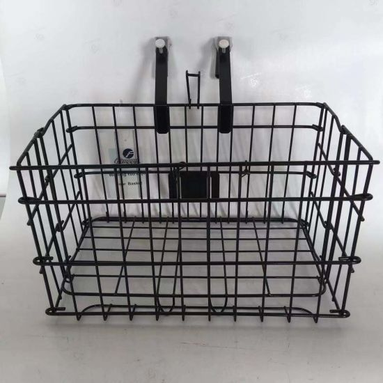 Folding Front Bicycle Basket with Hook of Bicycle Parts