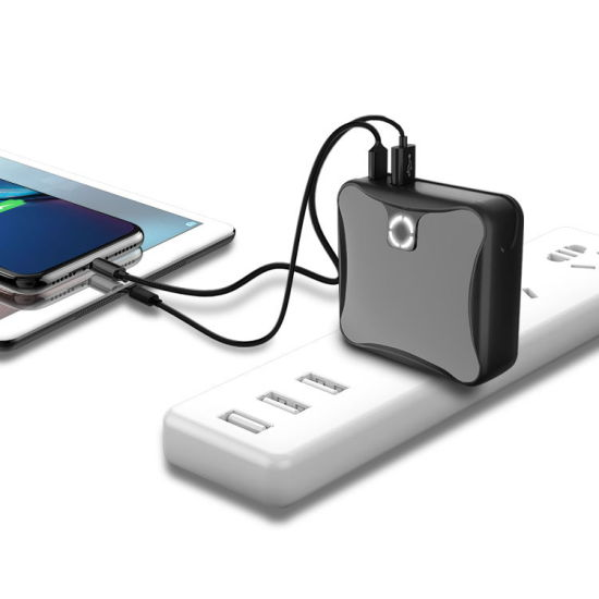 Travel Adapter with 10000mAh Power Bank