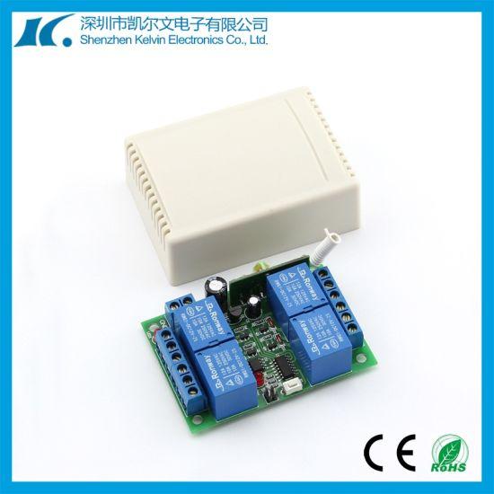 DC12V 4CH Wireless 315MHz/433.92MHz RF Remote Control Switch Kl-K400c