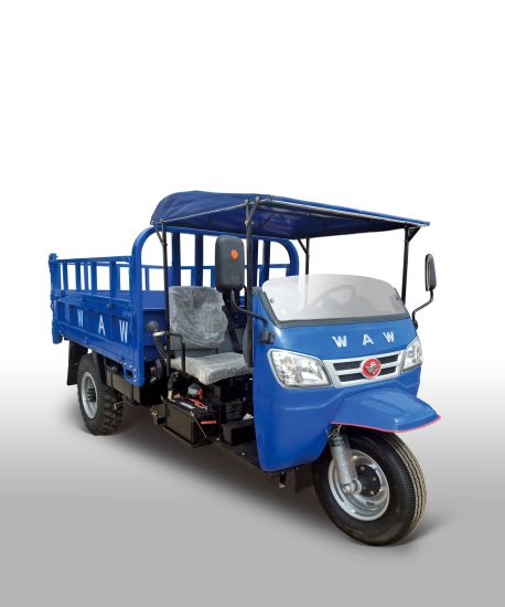 Waw Open Cargo Diesel Motorized 3-Wheel Tricycle (WE3B2523103) pictures & photos
