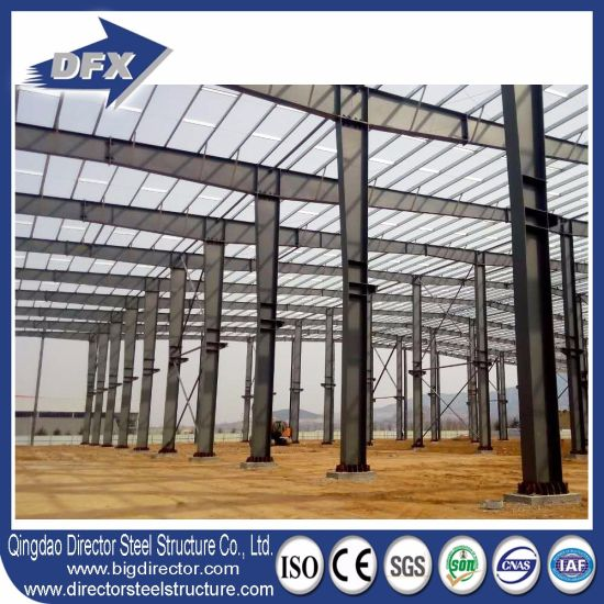 Large Span Aseismatic Steel Space Frame Structure Warehouse pictures & photos